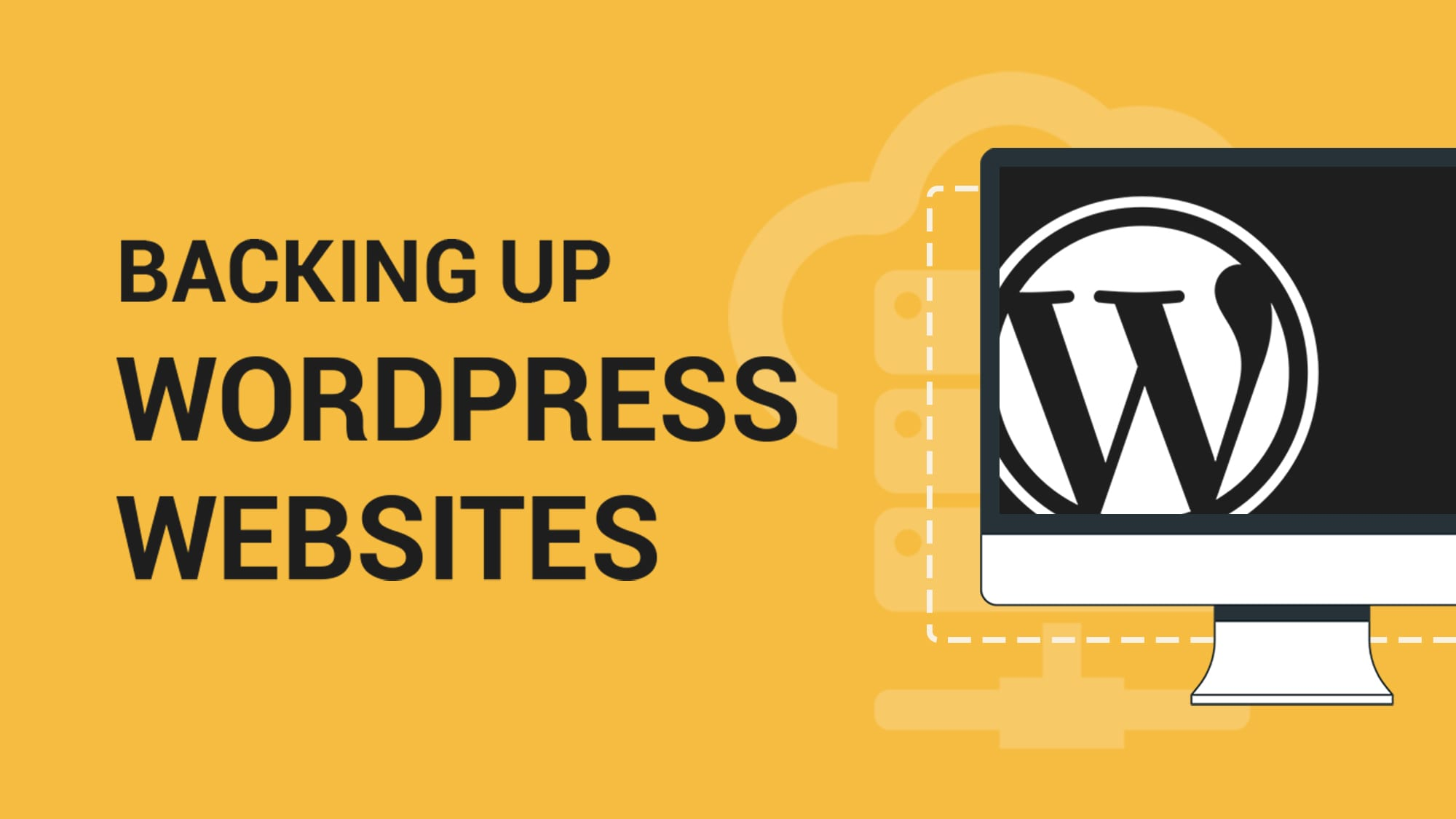 Backing up WordPress Websites