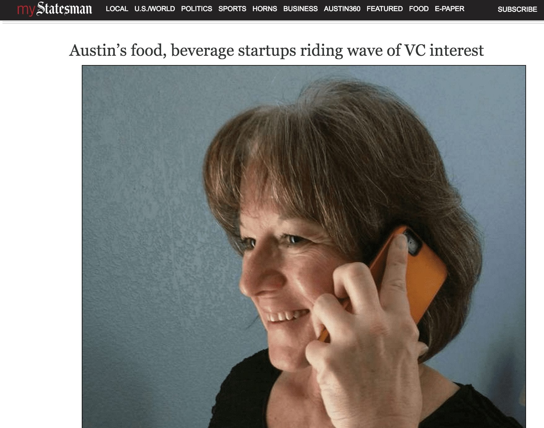 Jean Anne Booth and Kanega Watch Featured on Austin Statesman